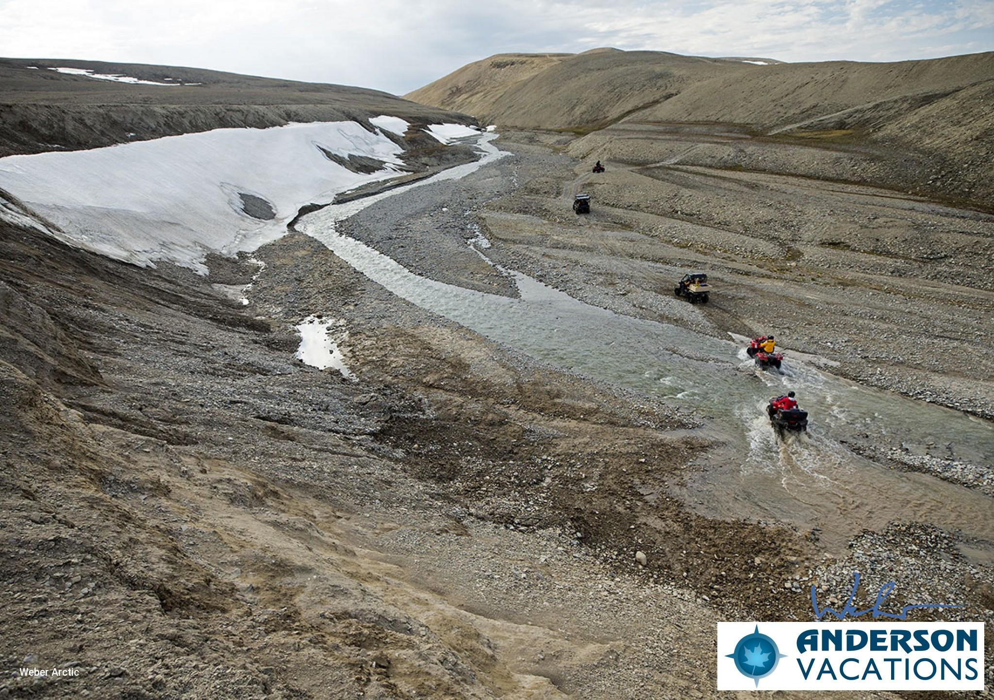 ATVing on the Tundra