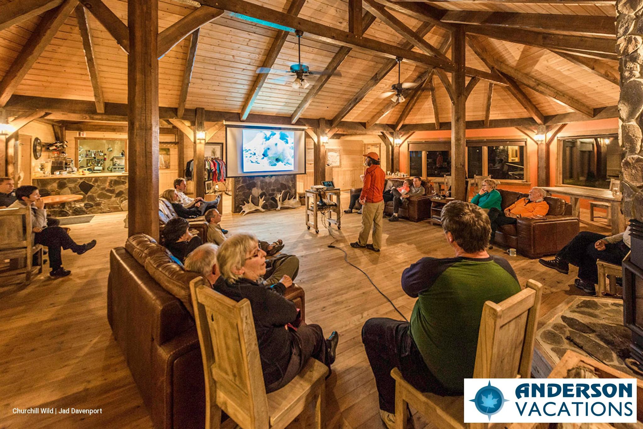 Inside Nanuk Lodge
