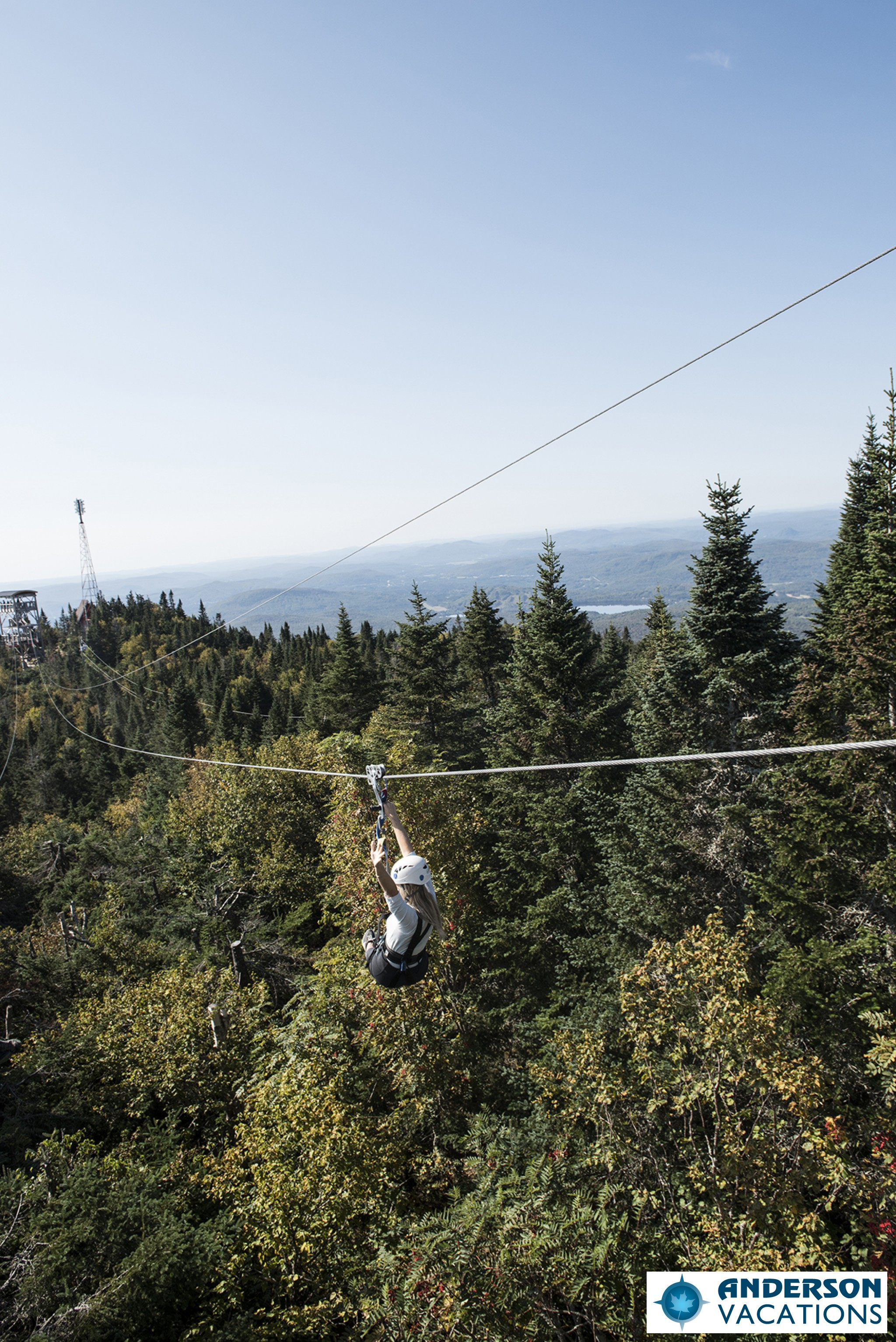 Ziptrek in Mont Tremblant