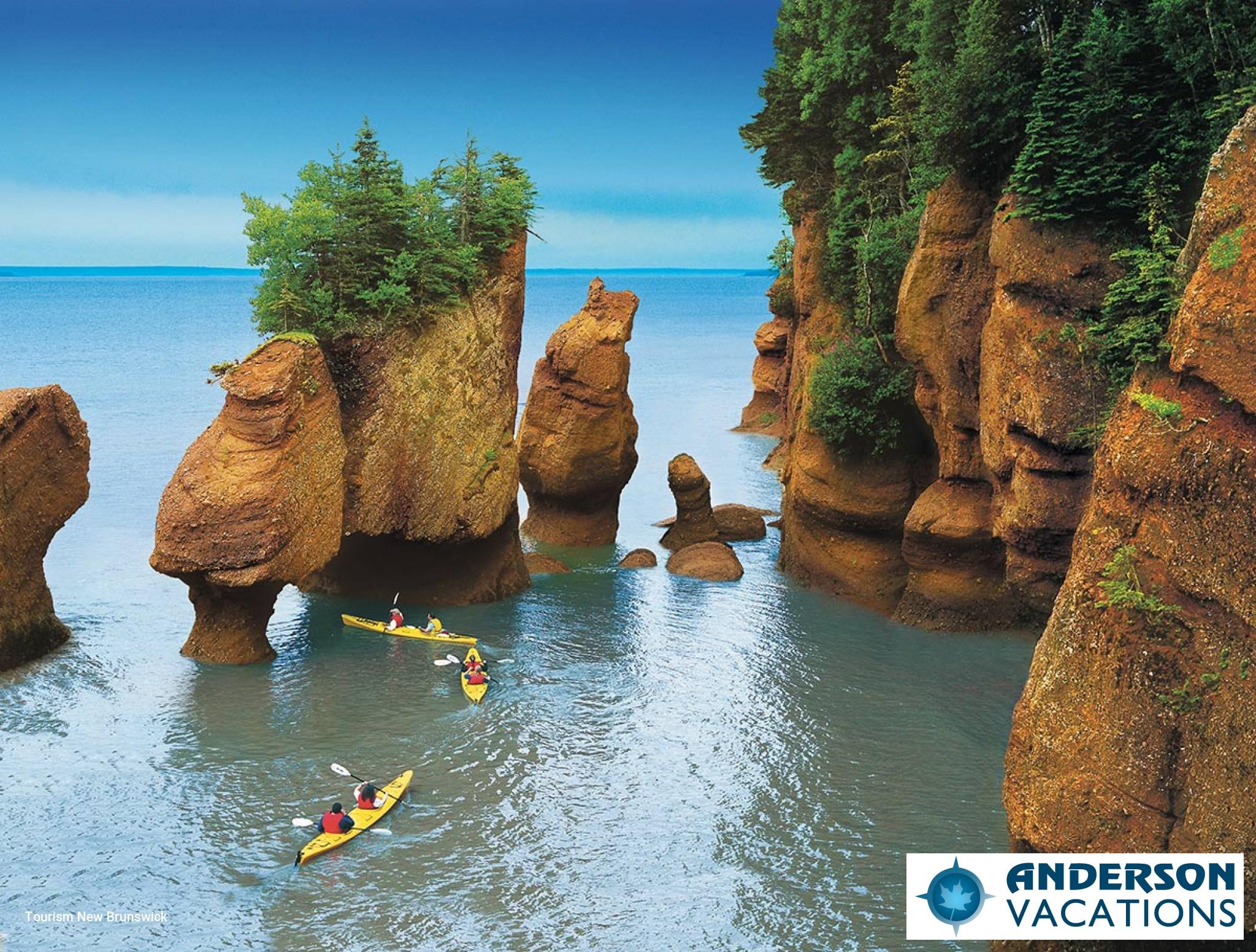Hopewell Rocks - Bay of Fundy