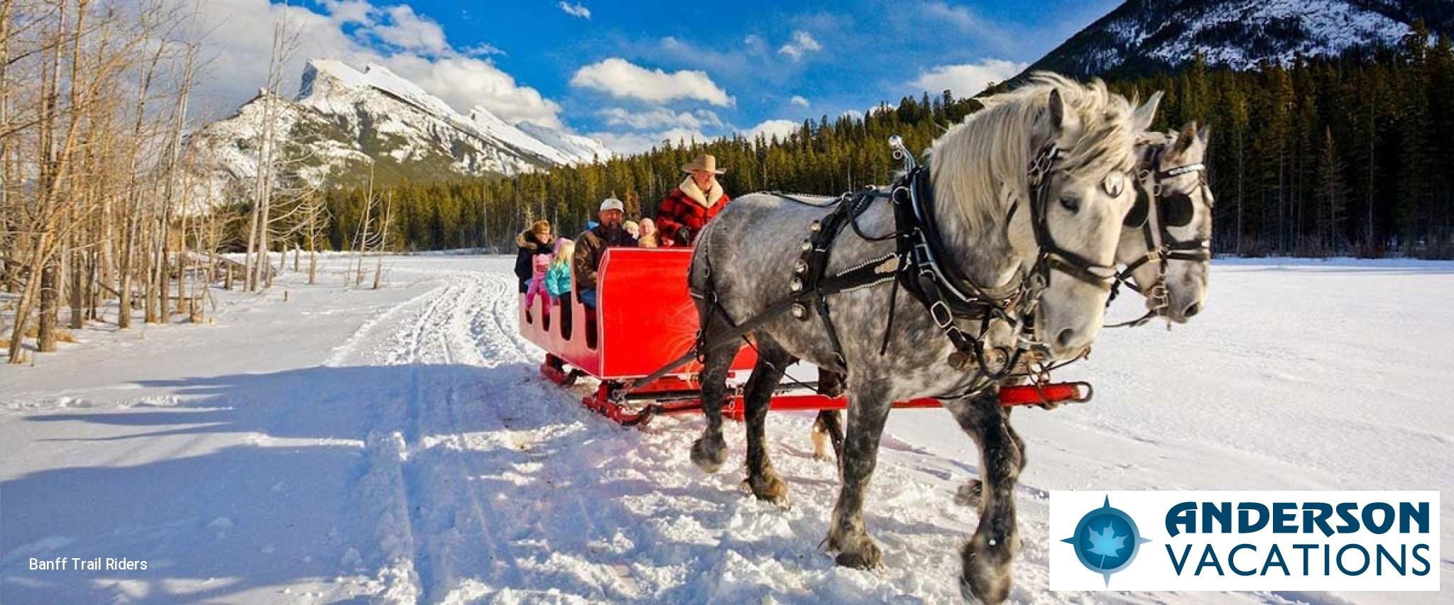 Sleigh Ride in Banff