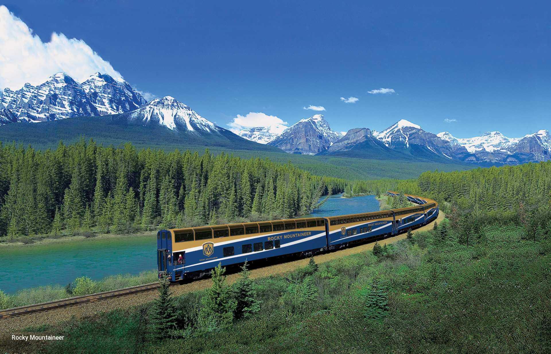 Canadian Rockies Train Trip