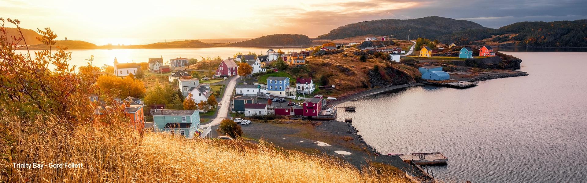 Sunrise in Trinity Bay Eastern Newfoundland