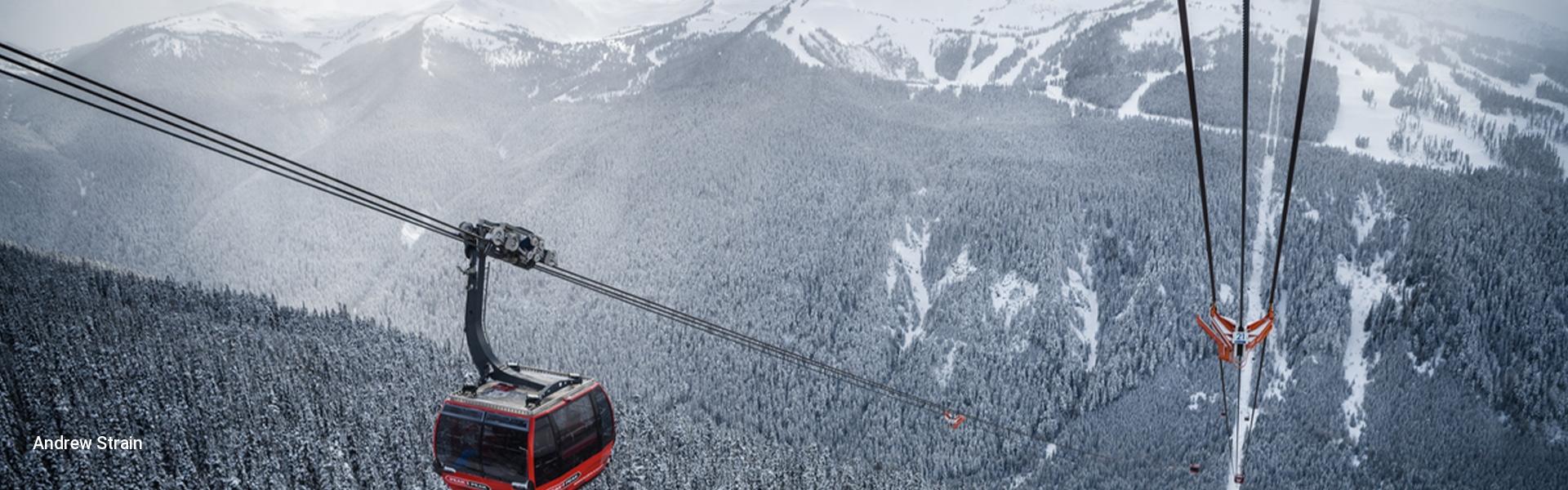 Peak 2 Peak Gondola Whistler Blackcomb