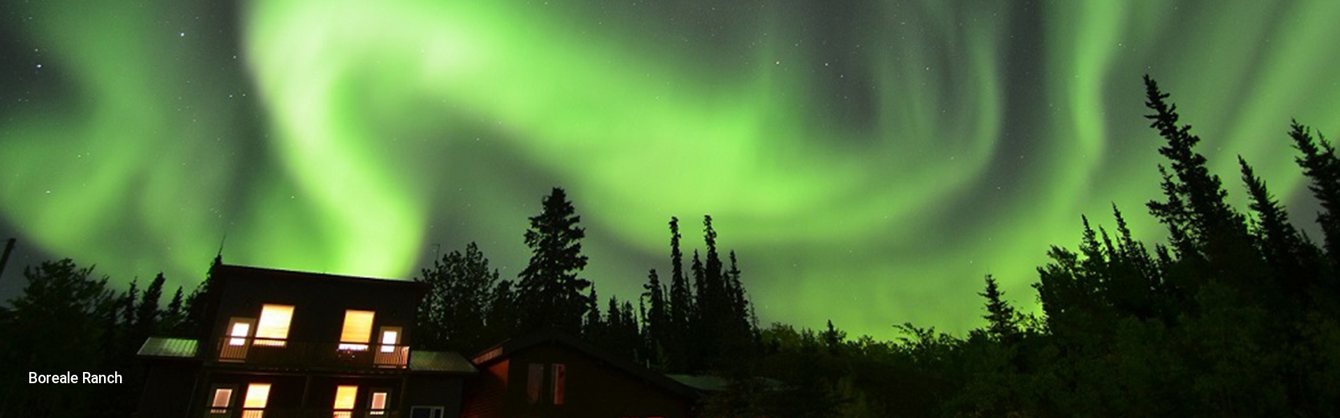 Northern Lights over the Boreale Ranch