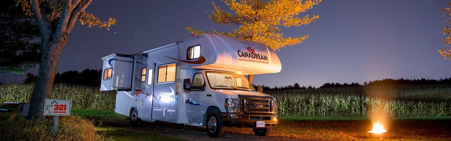 RV Trips Across Canada
